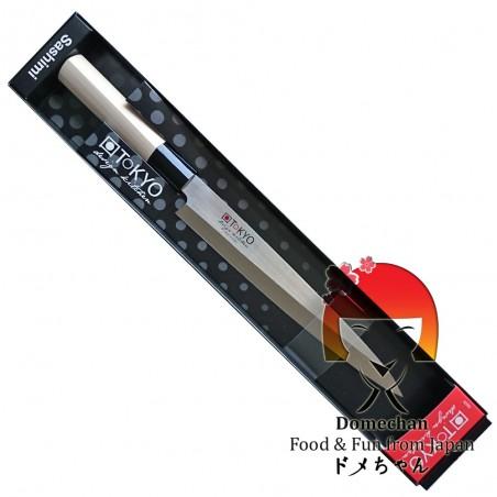 Coltello tokyo design sashimi - 21 cm Domechan LQW-32665699 - www.domechan.com - Prodotti Alimentari Giapponesi