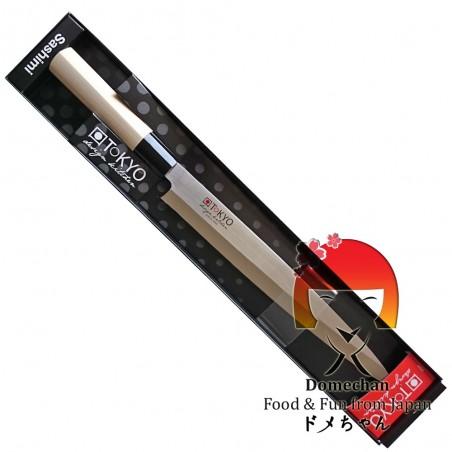 Coltello tokyo design sashimi - 26 cm Domechan LQY-75854775 - www.domechan.com - Prodotti Alimentari Giapponesi