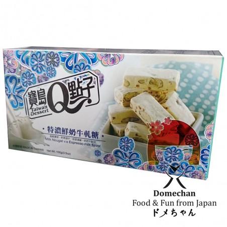 Nougat-milch-espresso-kaffee - 100 gr Domechan LXR-68827848 - www.domechan.com - Japanisches Essen