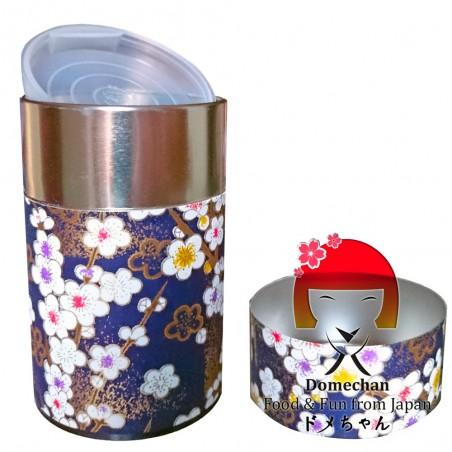 Matcha Tee-Etui, Konacha, Sencha - Blauer Typ Domechan MAY-67435478 - www.domechan.com - Japanisches Essen