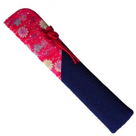 Porta ventaglio giapponese in tessuto - Type rosa e nero Domechan MCW-78553855 - www.domechan.com - Prodotti Alimentari Giapp...