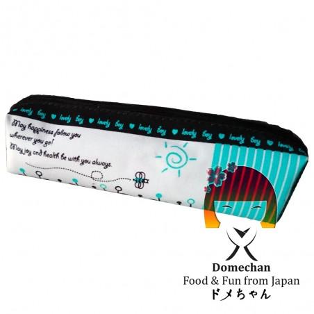 Astuccio in tessuto - Type happiness Domechan MEY-53898776 - www.domechan.com - Prodotti Alimentari Giapponesi