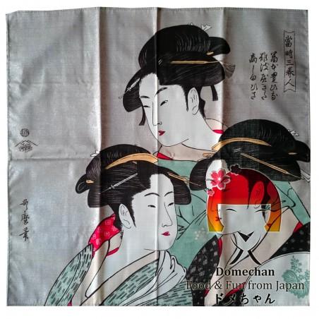 Furoshiki Taschentuch - Geisha Typ Domechan MFY-87773497 - www.domechan.com - Japanisches Essen