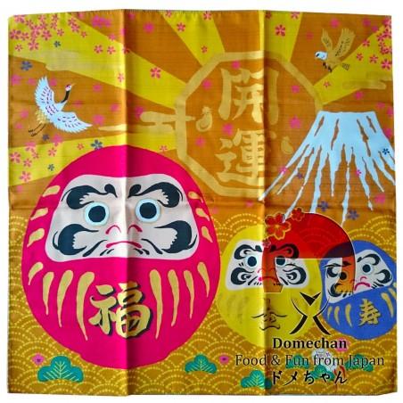 Furoshiki Taschentuch - Daruma Typ Domechan MGM-70891464 - www.domechan.com - Japanisches Essen