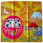 Furoshiki Handkerchief - Daruma Type Domechan MGM-70891464 - www.domechan.com - Japanese Food