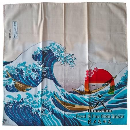 風呂敷ハンカチーフ 富士型 Domechan MHW-67344643 - www.domechan.com - Nipponshoku