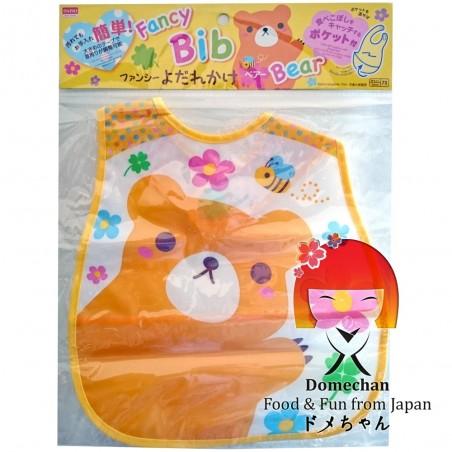 Gag with pocket to collect crumbs - Type teddy Bear Domechan MQY-88524937 - www.domechan.com - Japanese Food