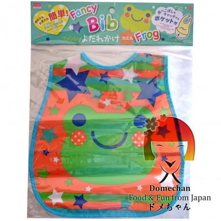 Bavaglia con tasca raccogli briciole - Type Rana Domechan MSY-32888427 - www.domechan.com - Prodotti Alimentari Giapponesi