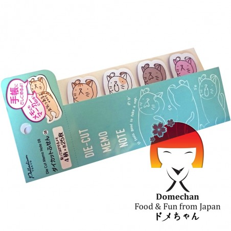 Notas adhesivas - Tipo de Gatos Domechan MWY-45573897 - www.domechan.com - Comida japonesa