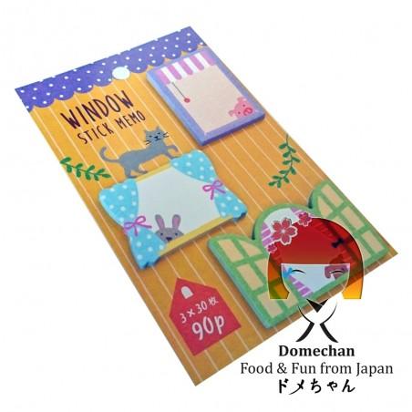 Clipboard Sticker Sheets - Window Type Domechan MXJ-37244548 - www.domechan.com - Japanese Food