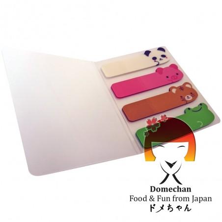 Foglietti adesivi per appunti - Type Animali III Domechan MYY-27623669 - www.domechan.com - Prodotti Alimentari Giapponesi