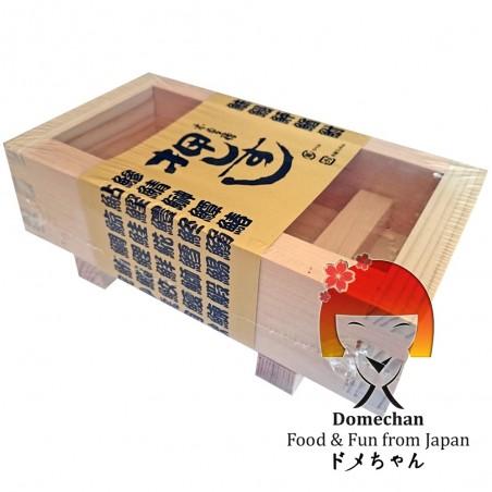 Oshibako stampo per oshizushi in legno con spatola Domechan NBW-64765838 - www.domechan.com - Prodotti Alimentari Giapponesi