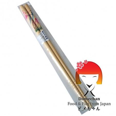 Japanese chopsticks in wooden bird - 22,6 cm Domechan NKW-68338722 - www.domechan.com - Japanese Food