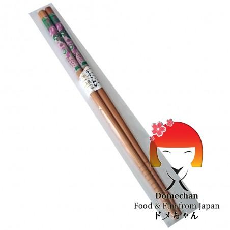 Bacchette giapponesi in legno nature - 22,6 cm Domechan NLW-86484899 - www.domechan.com - Prodotti Alimentari Giapponesi