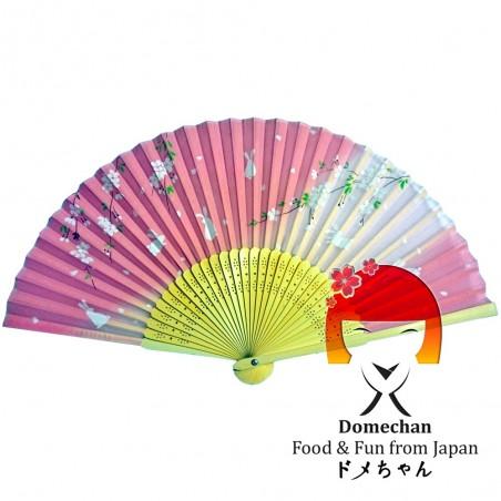 Ventaglio giapponese - Type Sakura Domechan NQW-46368965 - www.domechan.com - Prodotti Alimentari Giapponesi