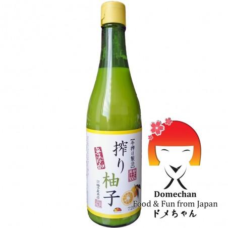 Yuzu juice - 720 ml Yuzu-honten DRV-37248288 - www.domechan.com - Japanese Food