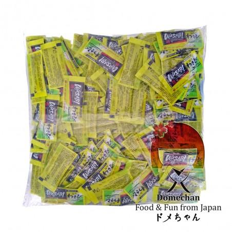Wasabi sobres de 5 g x 200 pcs Domechan NNY-72338799 - www.domechan.com - Comida japonesa