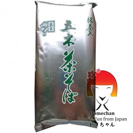 Green tea chasoba - 450 g Domechan NQY-49889636 - www.domechan.com - Japanese Food