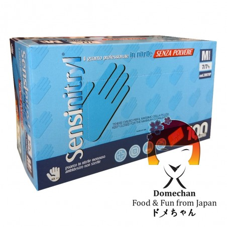 Disposable professional gloves in nitrile - 100 pcs Domechan NWW-85662846 - www.domechan.com - Japanese Food