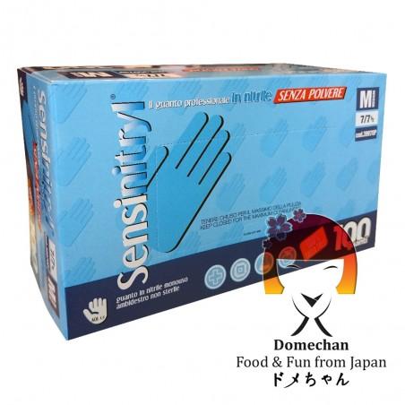 Guanti professionali monouso in nitrile - 100 pz Domechan NWW-85662846 - www.domechan.com - Prodotti Alimentari Giapponesi