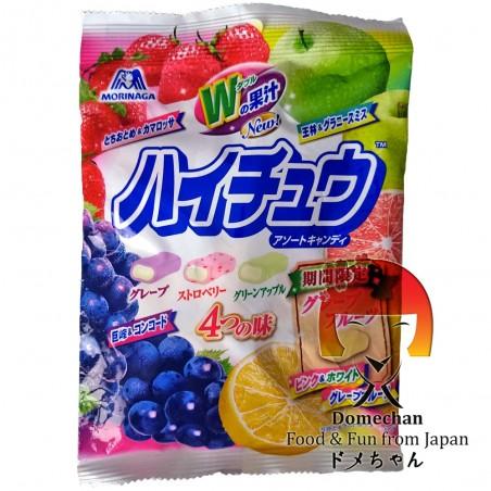 Caramelle alla frutta Hi-Chew assortite - 94 g Domechan PAW-24799532 - www.domechan.com - Prodotti Alimentari Giapponesi