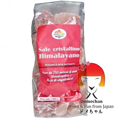 Himalayan salt in pieces - 1 kg Domechan PBY-72848362 - www.domechan.com - Japanese Food