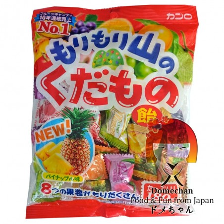 Caramelle alla frutta Morimori assortite - 180 g Domechan PCW-25736644 - www.domechan.com - Prodotti Alimentari Giapponesi
