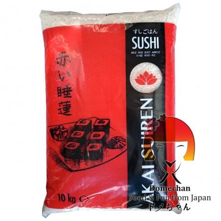 Rice for sushi akai suiren - 10 kg Domechan PDW-77724729 - www.domechan.com - Japanese Food