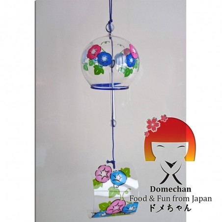 Japanese Furin Bell - Flower Graphics Domechan PLY-87870658 - www.domechan.com - Japanese Food