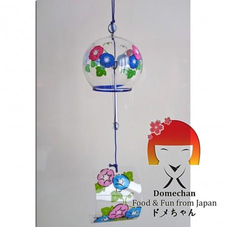 Japanische Furin Glocke - Blumengrafiken Domechan PLY-87870658 - www.domechan.com - Japanisches Essen