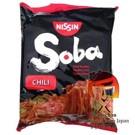 Chili aromatisierte Weizen-Soba-Nudeln - 111 gr Domechan PRT-99877284 - www.domechan.com - Japanisches Essen