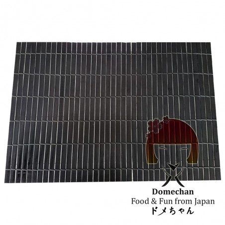 Mantel de bambú negro - 44.5 X 30 Domechan PUY-49545473 - www.domechan.com - Comida japonesa