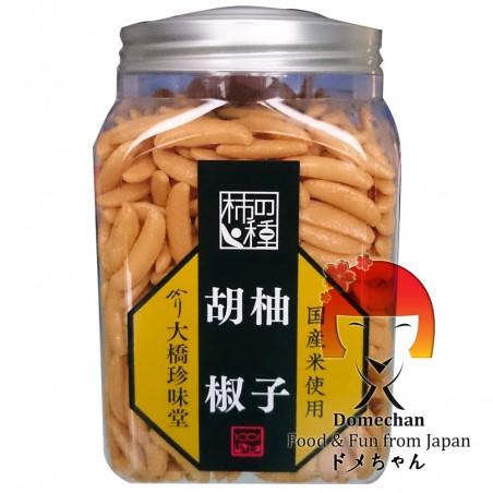 Snack di riso kakino tane allo yuzu e peperoncino - 220 gr Domechan PXQ-43397433 - www.domechan.com - Prodotti Alimentari Gia...