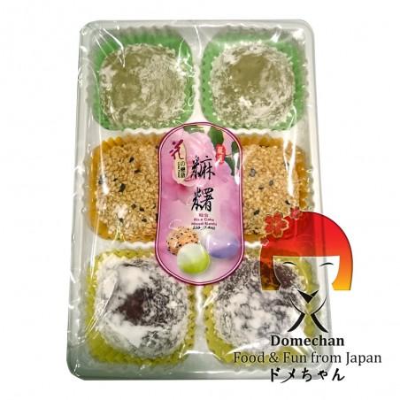 Mochi Mix 3 Geschmacksrichtungen - 210 g Domechan QBW-54282835 - www.domechan.com - Japanisches Essen