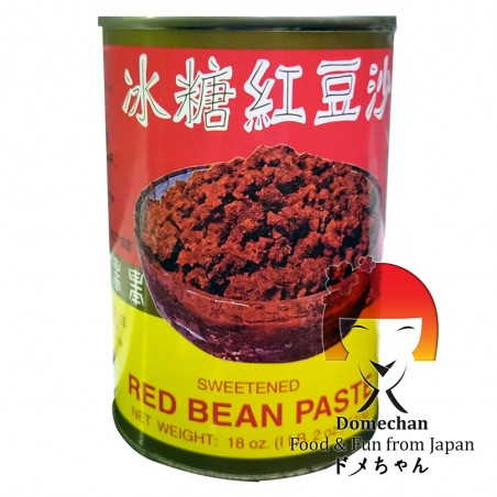 Anko yude azuki marmellata di fagioli rossi - 510 gr Domechan QCW-97998632 - www.domechan.com - Prodotti Alimentari Giapponesi