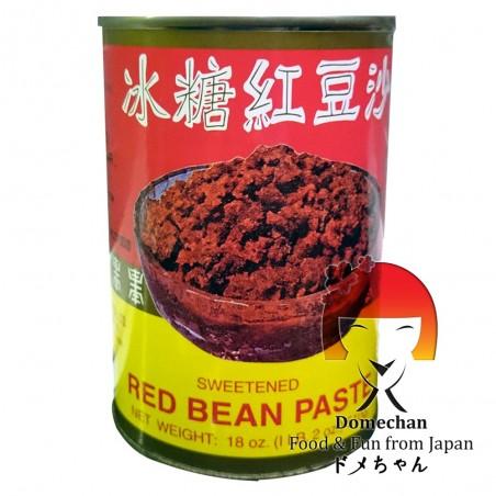 Anko yude las alubias azuki mermelada roja - 510 gr Domechan QCW-97998632 - www.domechan.com - Comida japonesa