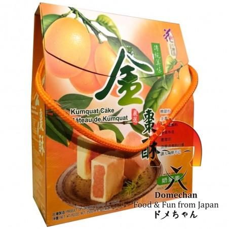 Tortini al kumquat - 250 gr Domechan QDW-42793658 - www.domechan.com - Prodotti Alimentari Giapponesi