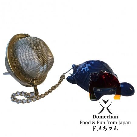 Infusore in metallo per tè - Tartaruga Domechan QDY-34285977 - www.domechan.com - Prodotti Alimentari Giapponesi