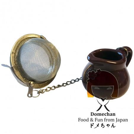 Metal tea infuser - Jug Domechan QEW-73443468 - www.domechan.com - Japanese Food