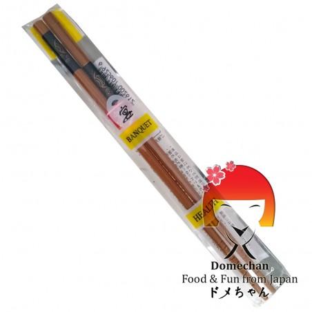 Paar fischgemusterte Essstäbchen Domechan QEY-36392944 - www.domechan.com - Japanisches Essen