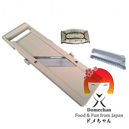 Japanese mandolin professional benriner slices vegetables and fruits Domechan QFY-23972653 - www.domechan.com - Japanese Food