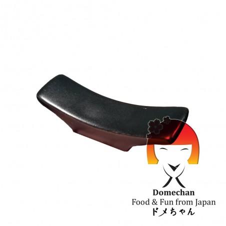Appoggio per bastoncini-bacchette in ceramica nero Domechan QQW-44256868 - www.domechan.com - Prodotti Alimentari Giapponesi
