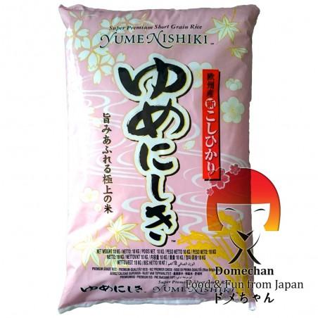 Riso per sushi yume nishiki - 10 kg JFC MAW-29855523 - www.domechan.com - Prodotti Alimentari Giapponesi