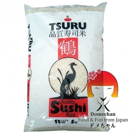 El arroz para sushi Tsuru - 5 Kg Domechan QUY-27494942 - www.domechan.com - Comida japonesa