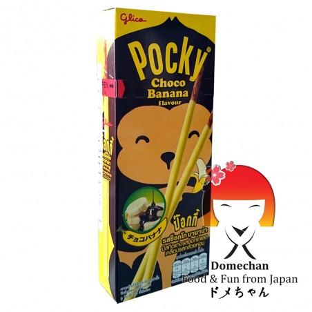 Glyco pocky bananen und schokolade - 25 g Glico QYW-49973733 - www.domechan.com - Japanisches Essen