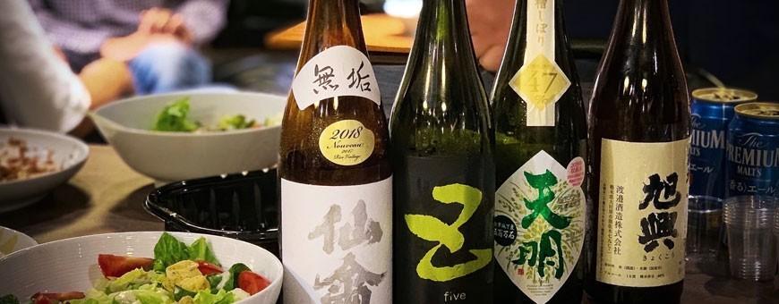 Sake Umeshu Shochu Wein