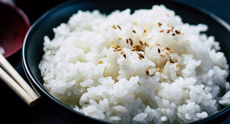 Riso Giapponese a colazione
