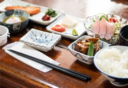 La colazione tardizionale giapponese
